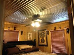 rustic tin ceiling best corrugated