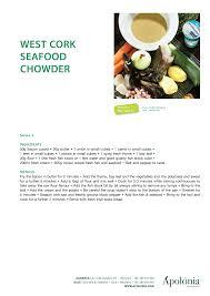 West Cork seaFood ChoWder