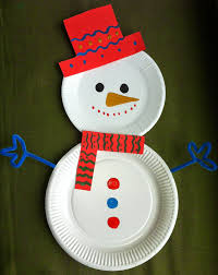 Paper Plate For Christmas Craft  Creative Art And Craft IdeasChristmas Arts And Craft Ideas