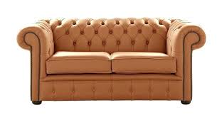 details about chesterfield handmade 2 saddle leather sofa settee couch saddle leather