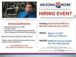 Arizona Correctional Officer Correctional Officer Arizona Work