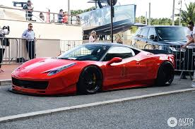 ferrari italia widebody. ferrari 458 italia liberty walk widebody