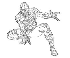 Ultimate Spiderman Coloring Pages Ultimate Spiderman Coloring Pages
