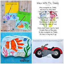 fun list of father s day handprint footprint art and craft ideas