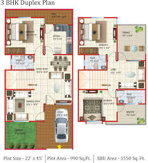 collection 3 bedroom duplex house design plans india photos the