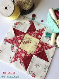 33 Star Quilt Patterns: Free Block Designs and Quilt Ideas ... & Simple Star Quilt Blocks. Castles in the Air Block Tutorial Adamdwight.com