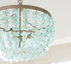 sea glass chandelier. Enya Sea Glass Chandelier S