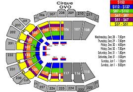 Circus De Soleil Seating Chart Ovo From Cirque Du Soleil Sprint Center