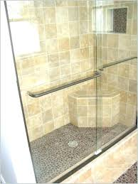 shower bench dimensions showers with seat built in tile ideas a get height showe shower bench seat