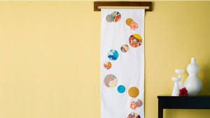 Small Picture Homelife How To Make A Fabric Wall Hanging