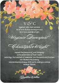74 best snail mail images on pinterest invitation ideas, cards Wedding Paper Divas Ombre Forest chalkboard floral signature white wedding invitations in orange sherbet or baroque Wedding Hairstyles