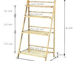 24 inch wide shelf unit shelving stands plant flower stand rack bamboo shelves pot racks planter