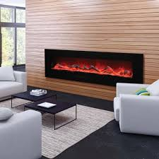 wall mount electric fireplaces. Amantii 72\ Wall Mount Electric Fireplaces