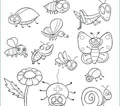 Printable Insect Coloring Pages Trustbanksurinamecom