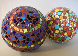 Decorative Sphere Balls Classy Susan Sanford's Decorative Balls Mosaic