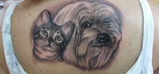 Povedená Tetování Kočky A Psi Jenženycz