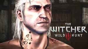 The Witcher 3 Wild Hunt The Significance Of Geralts Blue Stripes Tattoo