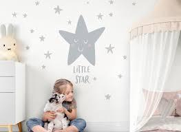 Wandtattoo Sterne Spruch Little Star Dl249 Mädchen