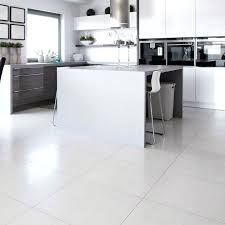 White Tiled Kitchen Floor Kitchen New Ideas White Floor Tile White