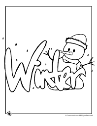 Coloring Pages For Winter 17 #41664