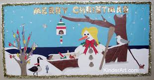 christmas by the sea bulletin board