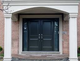 black double front doors. Unique Black Miraculous Black Front Doors Double Door Handles And  Intended 6