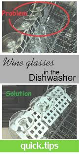 dishwasher wine glass holder an easy solution to keep wine glasses securely in place in