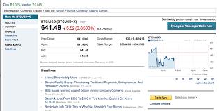 Bitcoin Price Chart Yahoo Bitcoin Goes Mainstream With Inclusion On Yahoo Finance