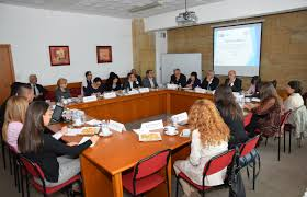 during the round table conference