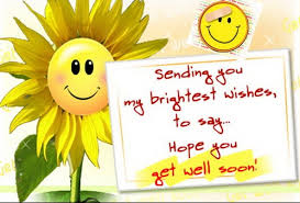 Get Well Soon Quotes, Wishes, Messages & Cards | SayingImages.com