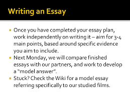 as demonstrate understanding of a specific media industry  once you have completed your essay plan work independently on writing it aim