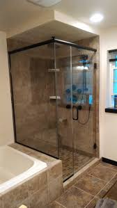 residential glass custom shower