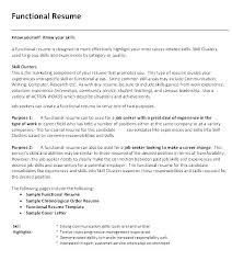 Definition Of Functional Resumes Combination Resume Format For 1 Page Free Template Style