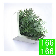 green frame shibafu herb mix 150 wh wall decals fake green artificial plants