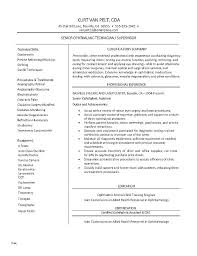 Ophthalmic Assistant Resume Mesmerizing Certified Opthalmic Technician Resume Similar Resumes Ophthalmic