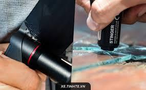 Trên tay cốc sạc USB kiêm dụng cụ thoát hiểm xe hơi: nhỏ gọn, cắt dây an  toàn và phá kính tốt