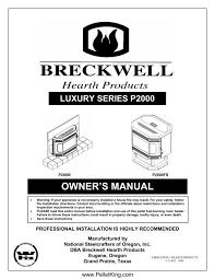 p2000 2004 manual wood pellet stoves