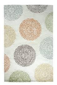dynamic rugs al241918139 medallion damask allure 2x4
