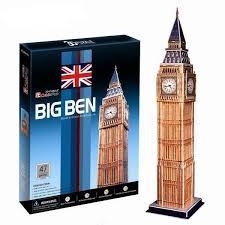 Объемный 3D пазл <b>CUBICFUN Биг Бен</b> в Великобритании ...