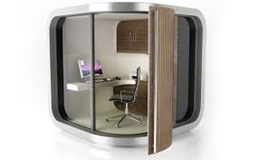 small portable office. Portable Home Office   OfficePOD \u2013 Modern And Environment Design . Small C