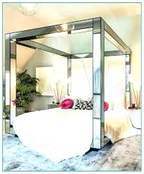 Bed With Mirror Exciting Bedroom Set Regard To And Frame Decor Head ...
