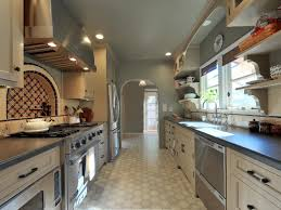 Gallery Kitchen Stylish Moroccan Galley Kitchen Melissa Salamoff Hgtv