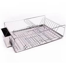 Space Saving Dish Rack Kitchen Nice Dish Drying Rack For Dinnerware Organizer Idea