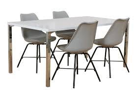 5tlg Essgruppe Esstisch 90x160 Esszimmer Stuhl Stühle Tisch