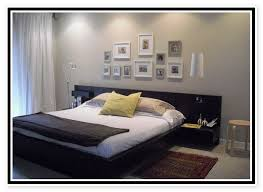 bed with nightstands attached.  Bed Ikea Platform Bed With Attached Nightstands To A