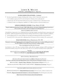 Marketing Manager Resume Objective Magnificent Marketing Manager Resume Pdf For Director Sample Resumes