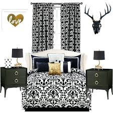 Black Gold And White Bedroom Gold And White Bedroom Ideas The Best ...