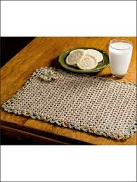 Free Crochet Placemat Patterns Classy Crochet Placemats Free Pattern 48CROCHET Pinterest