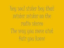 Soul Sister Quotes Impressive Train Hey Soul Sister Lyrics YouTube