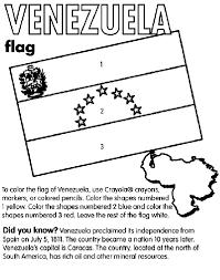 Small Picture Venezuela Coloring Page crayolacom